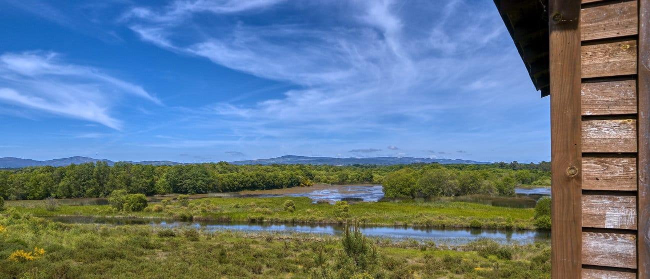 Cielo y tierra en Laguna de Cospeito