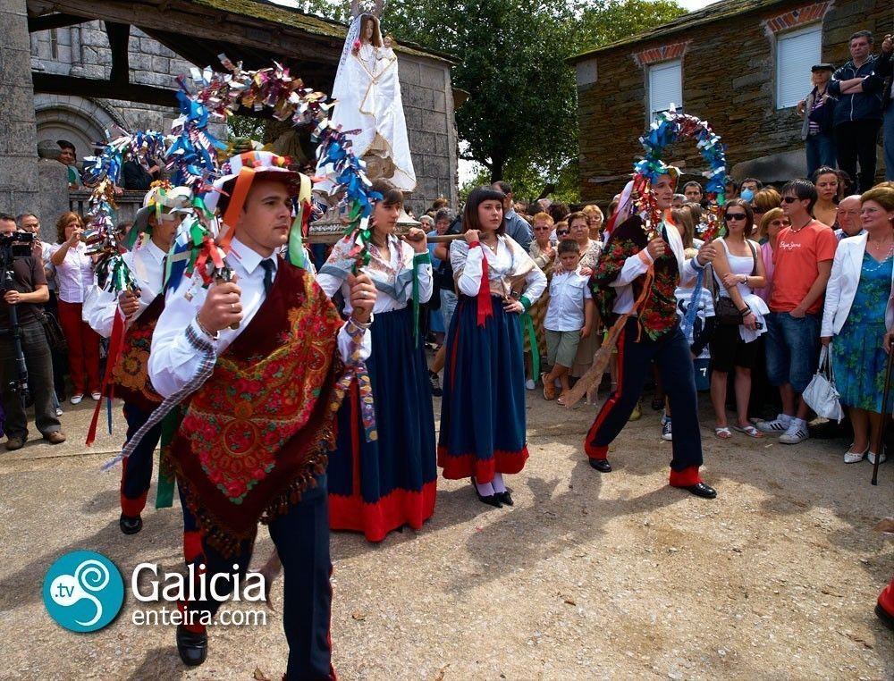 Danza procesional de Cervela - O Incio
