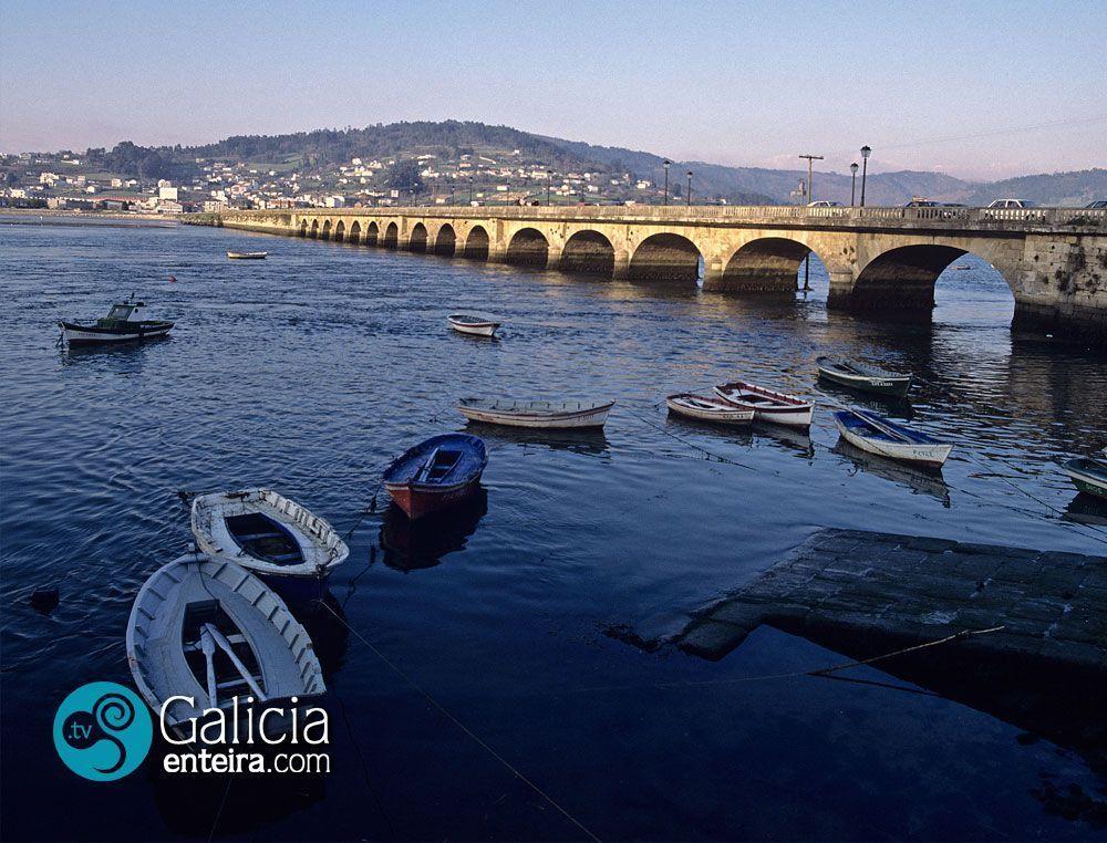 Puente de piedra - Pontedeume