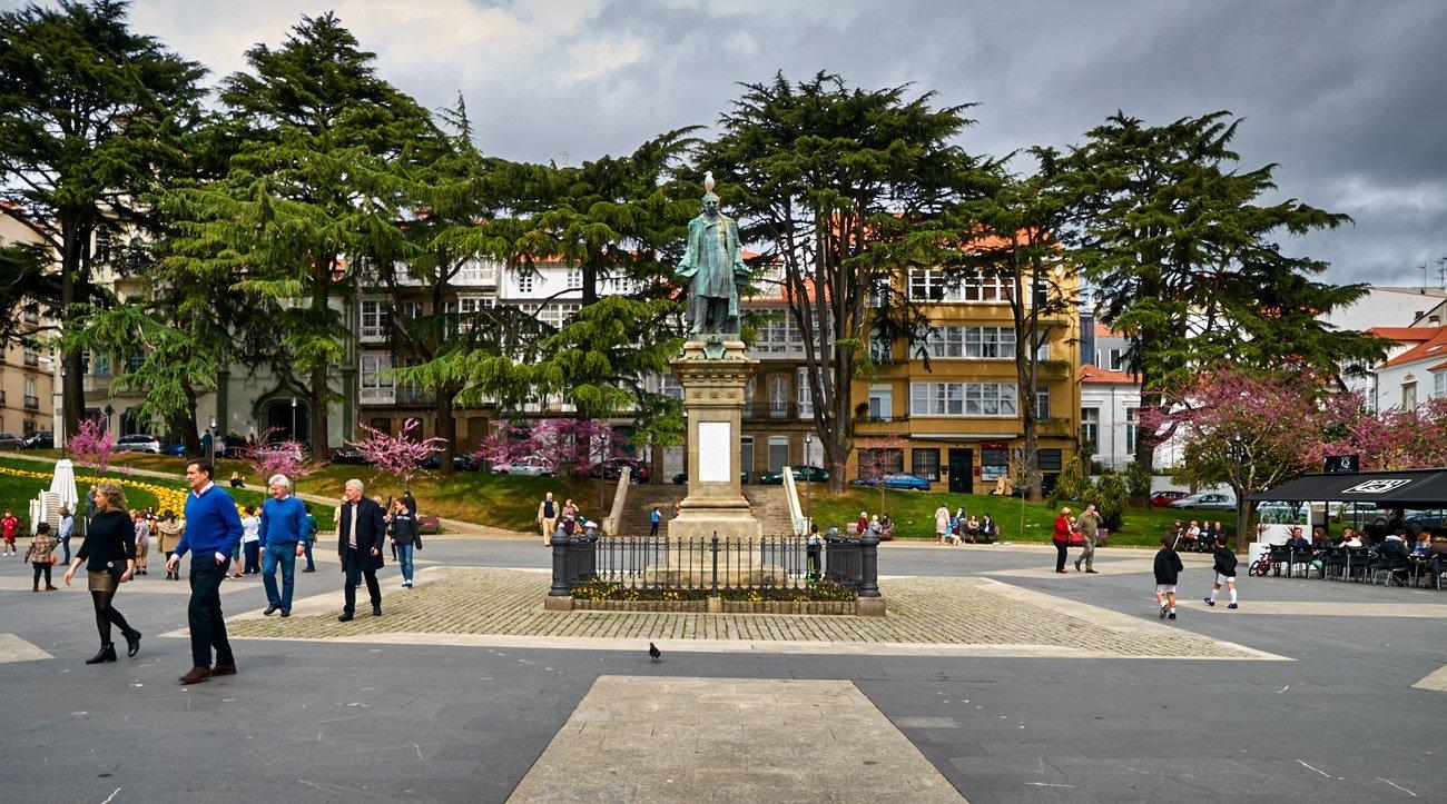 Plaza del Amboaxe - Ferrol