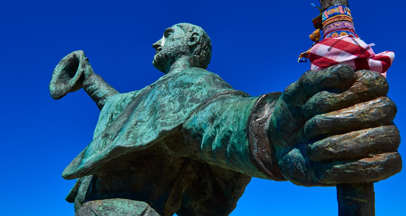 Monumento al peregrino - Monte do Gozo