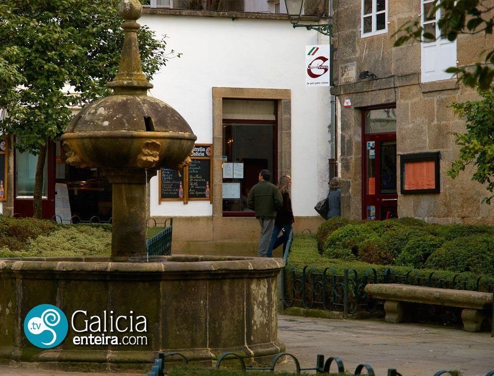Plaza de Fonseca - santiago