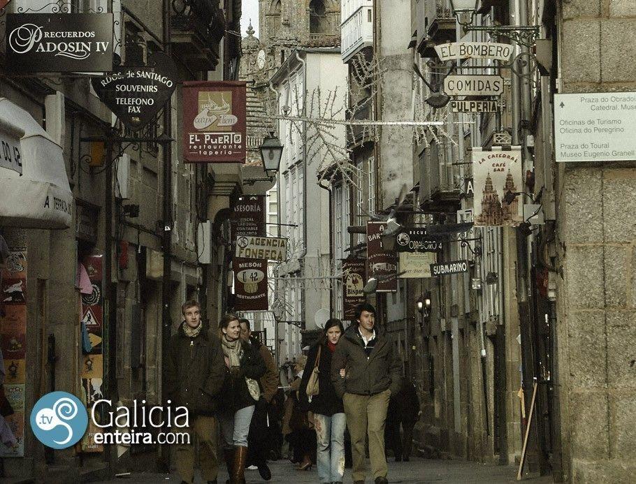 Rúa do Franco - Santiago de Compostela