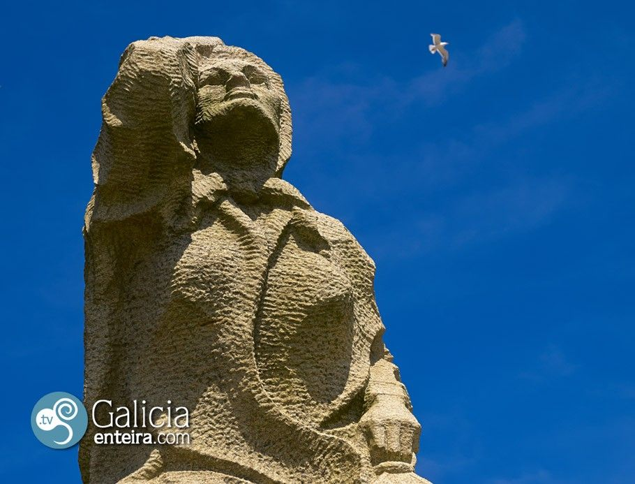 Monumento al marinero desaparecido - A Guarda