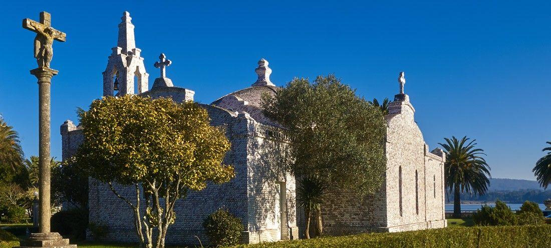 Iglesia de las conchas – A Toxa