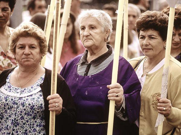 La procesión del Nazareno - A Pobra do Caramiñal