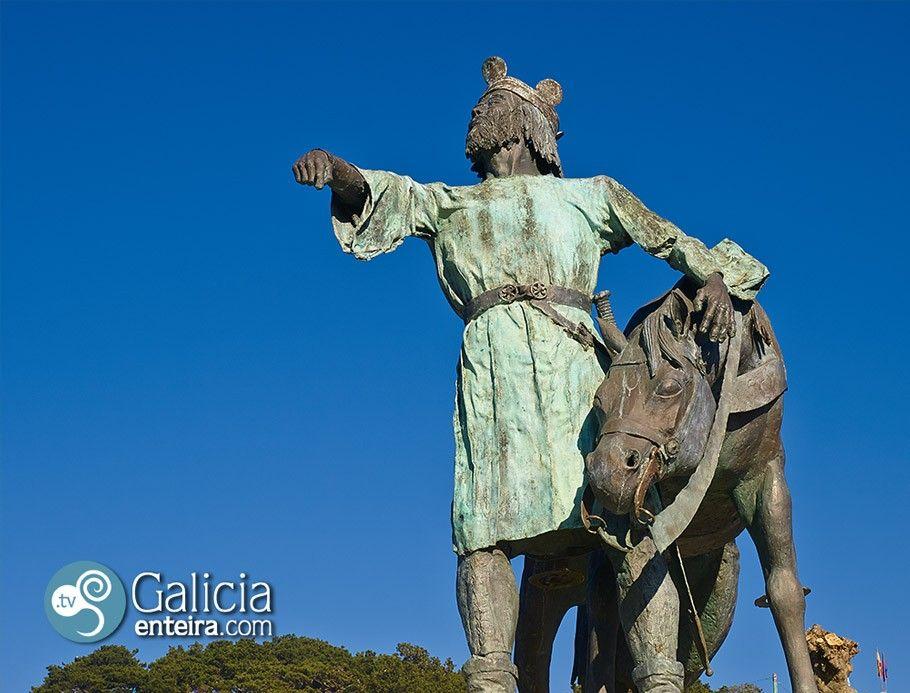 Estatua Alfonso IX - Baiona
