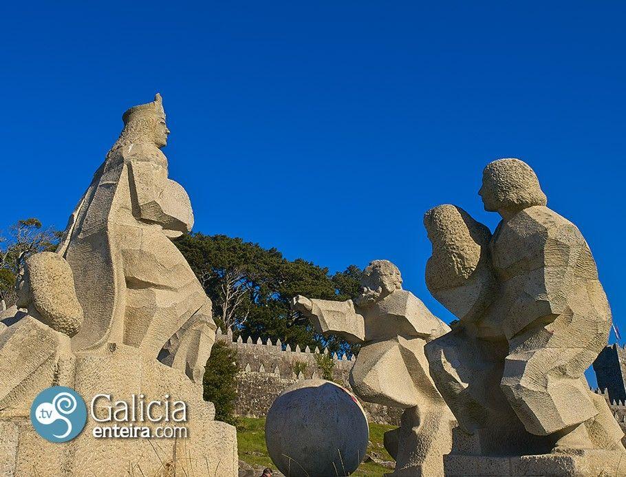 Monumento Encuentro entre dos Mundos – Baiona