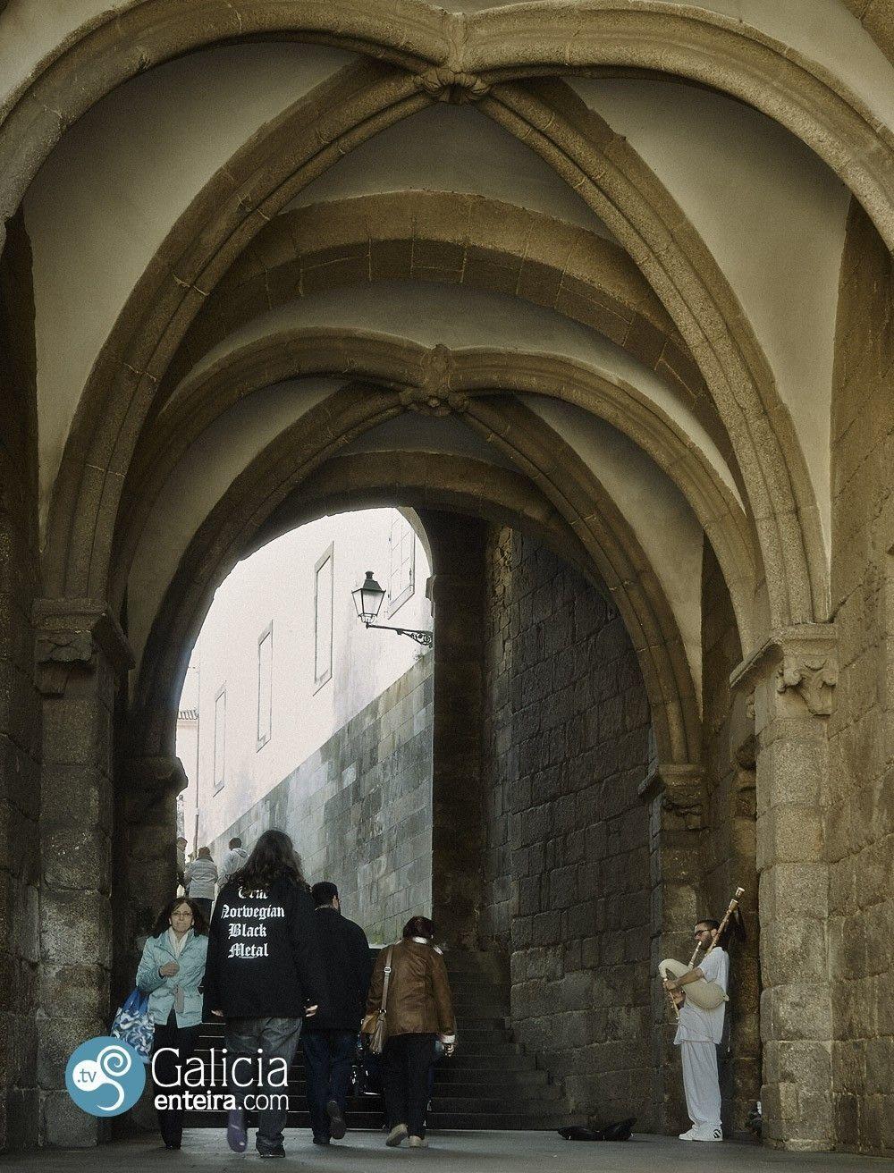 Arco del palacio de Xelmírez - Santiago