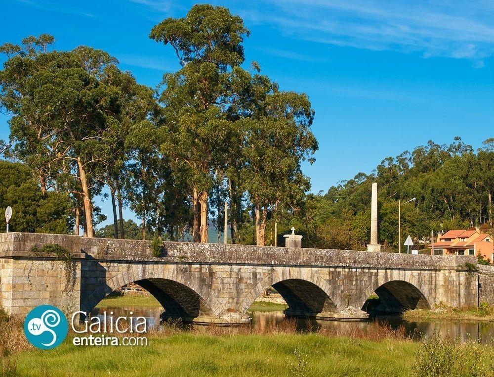 Puente sobre el río Tamuxe - O Rosal