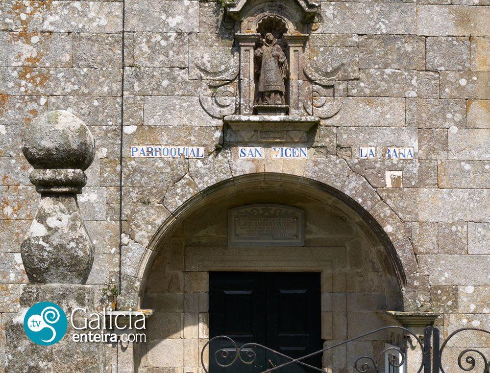 Iglesia de San Vicente - A Baña