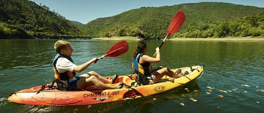 Kayak en el Cañón del Sil