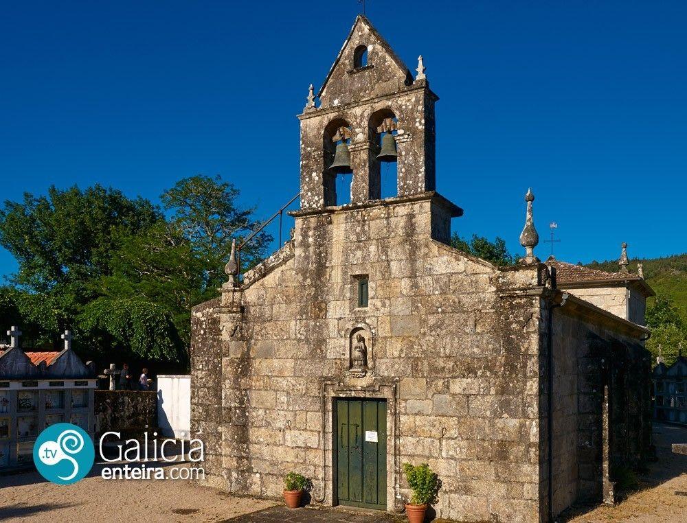 Igrexa Parroquial de San Estevo de Castelans - Covelo
