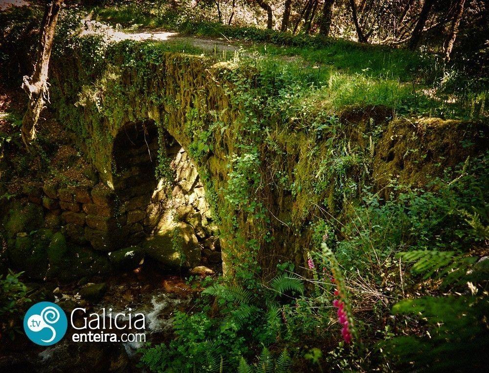 Puente Mosteiro, rio Alen - Covelo
