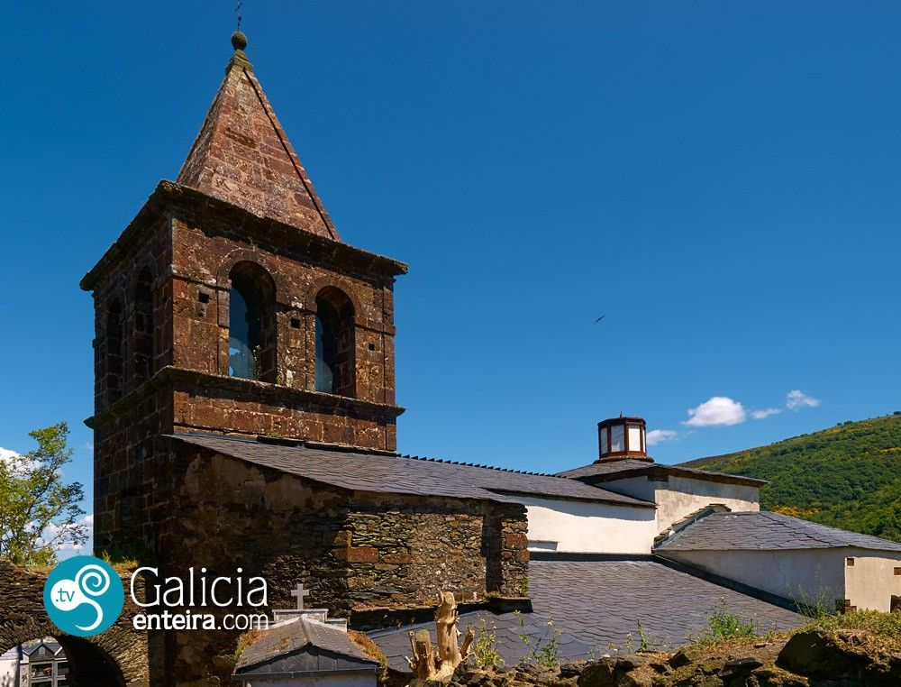 Iglesia de Correxais - Vilamartín de Valdeorras