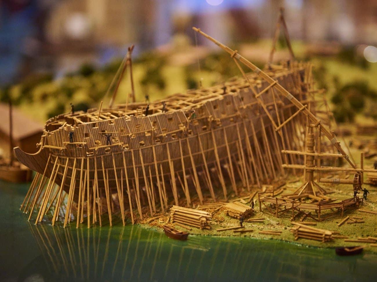 Una visita al museo de la construcción naval. Exponav