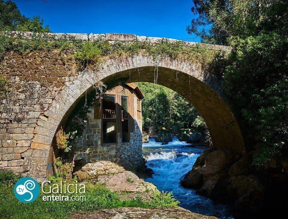 Puente románico río Deva - Arbo
