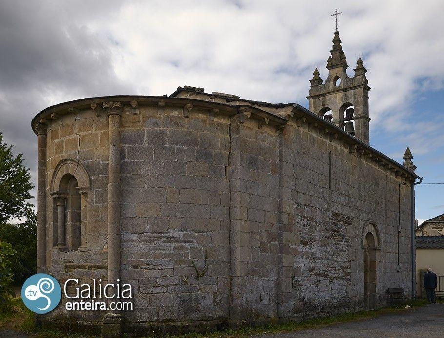 Santa María de Corvelle - Sarria