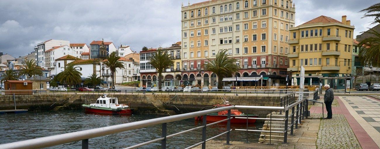 Paseo da Mariña, Ferrol