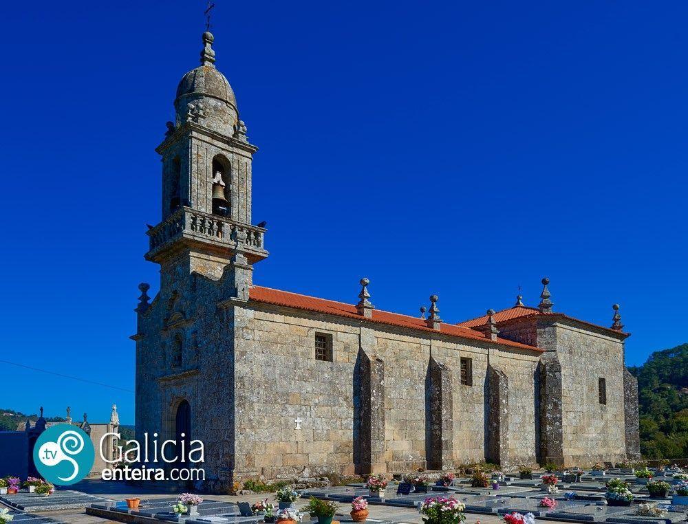 Iglesia de San Miguel de Desteriz Padrenda