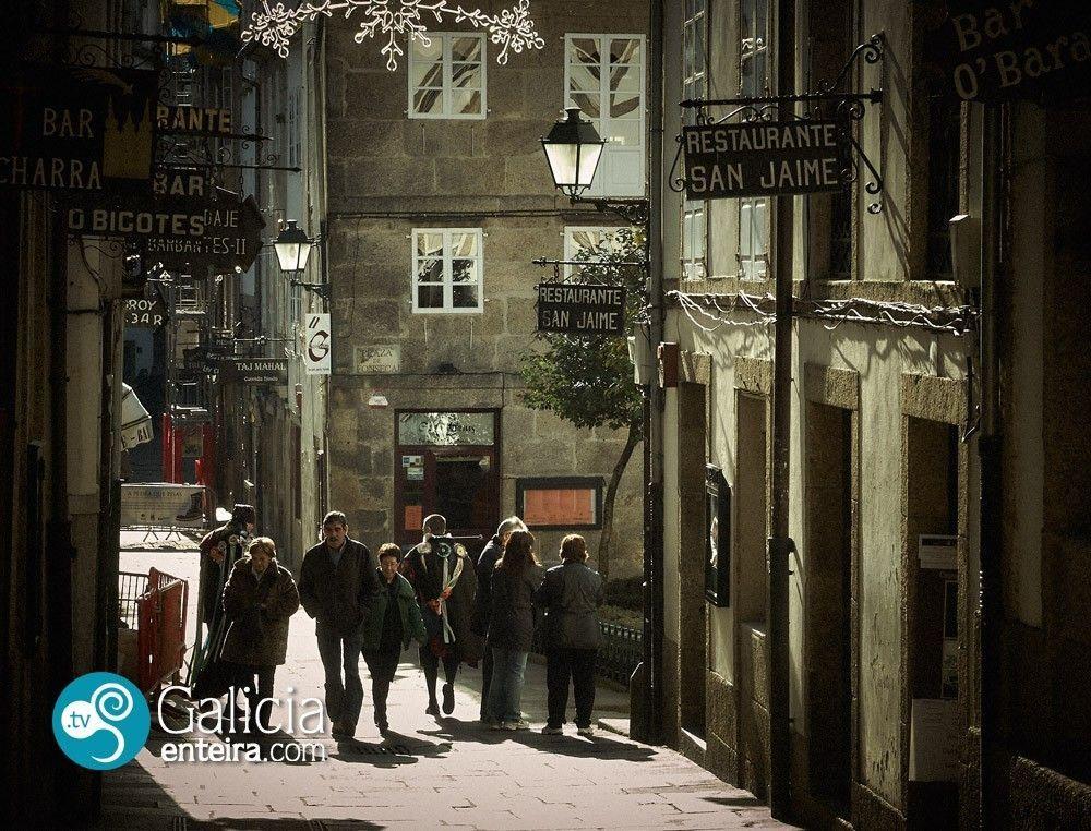 Rúa da Fariña - Santiago de Compostela