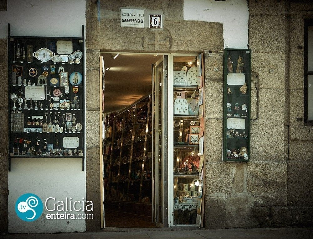 Rúa de San Francisco - Santiago de Compostela