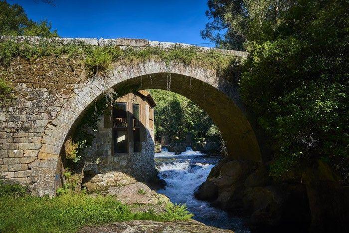 Puente románico río Deva – Arbo