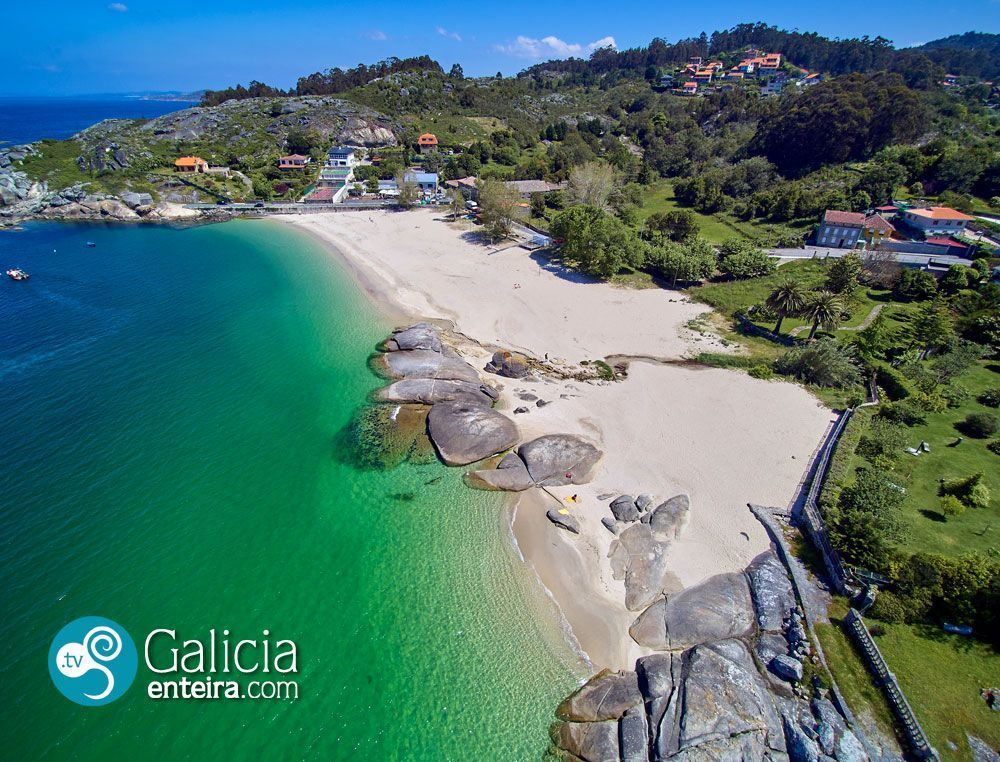 Playa de Menduiña - Cangas