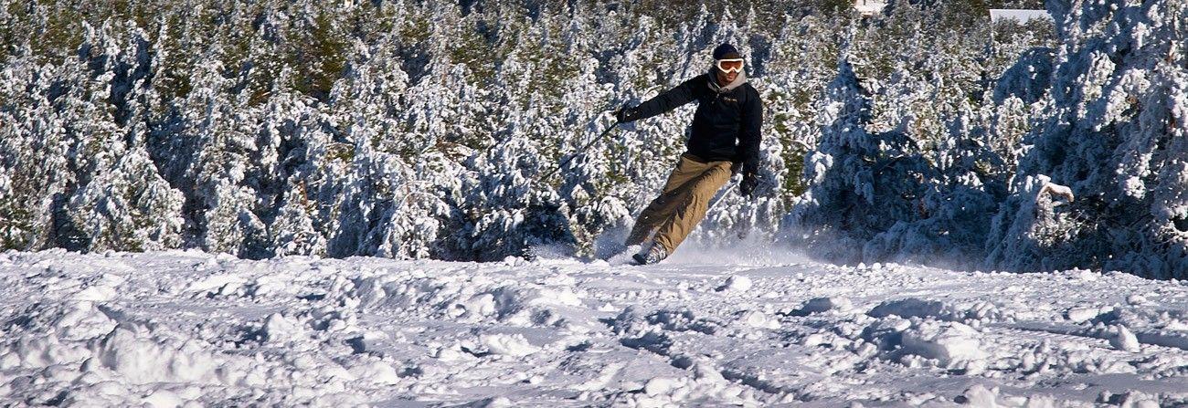 Estacion de esqui Cabeza de Manzaneda
