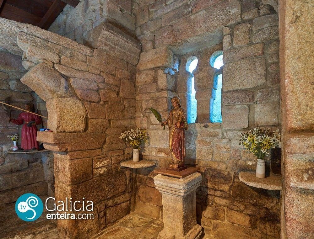 Iglesia de Santa Eufemia de Ambía - Baños de Molgas