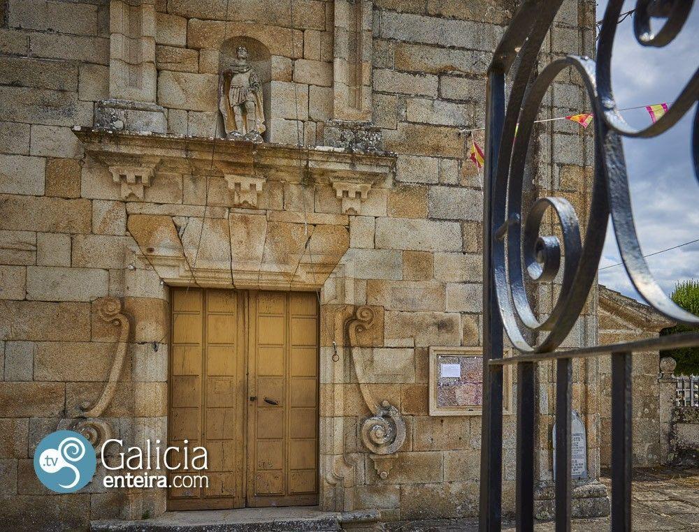 Iglesia San Adrián de Vieite, Leiro