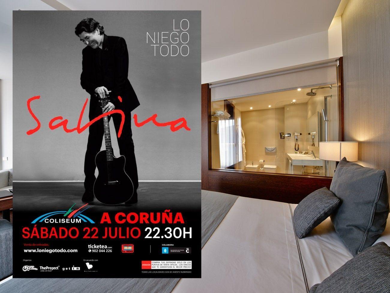 Joaquín Sabina en concierto. LO NIEGO TODO
