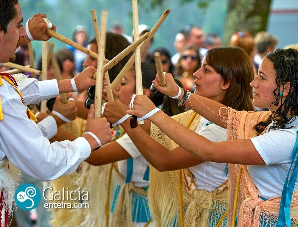Danza blanca de Anceu - Ponte Caldelas