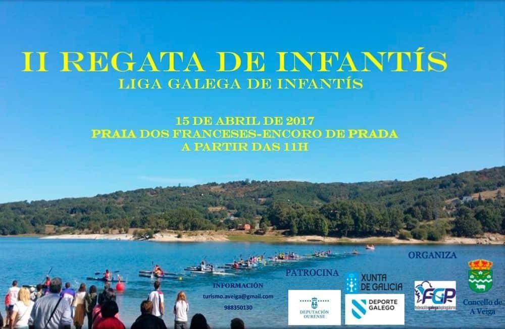 II Regata Galega de Piragüismo de Infantís