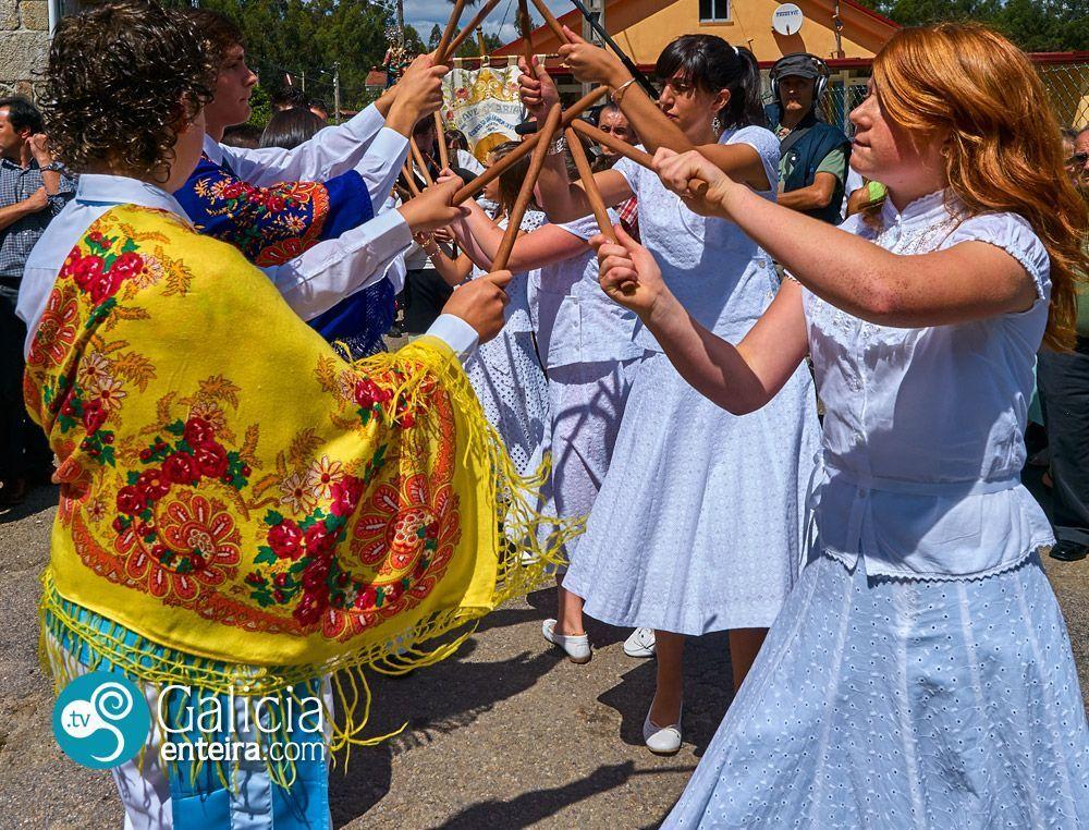 Danza de Mouriscados, Mondariz