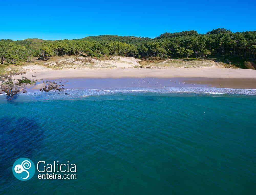 Playa de Melide, Cangas
