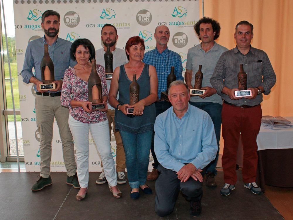 Premiados en la XXIIIª cata de los vinos de Ribeira Sacra