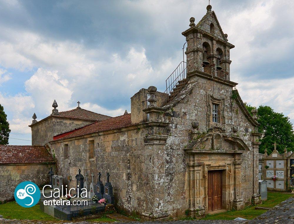 Igrexa de San Pedro Féliz de Brués, Boborás