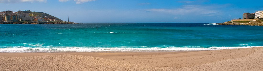 Playa de Orzán - A Coruña