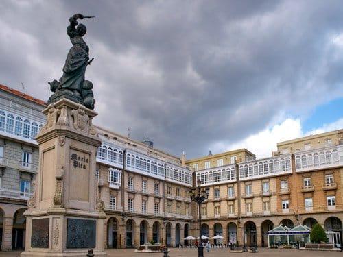 Plaza de Maria Pita - A Coruña