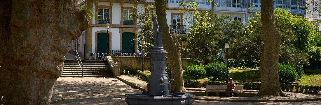 Plaza do Azcarraga - A Coruña