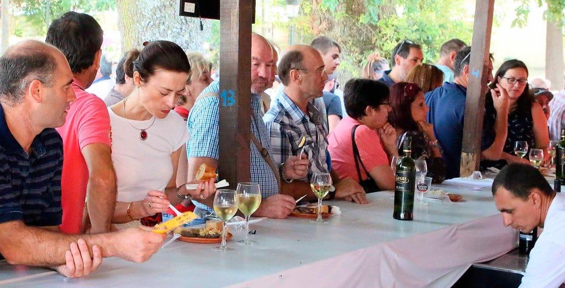 El Concello de Arbo celebra el récord de visitantes en esta XXII Festa da lamprea Seca