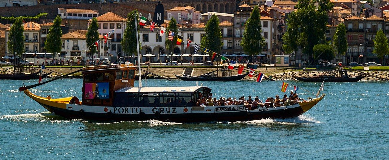 Rabelos en el Duero - Oporto