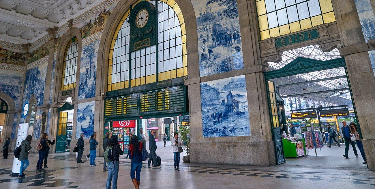 Estación de Trenes de San Bento - Oporto