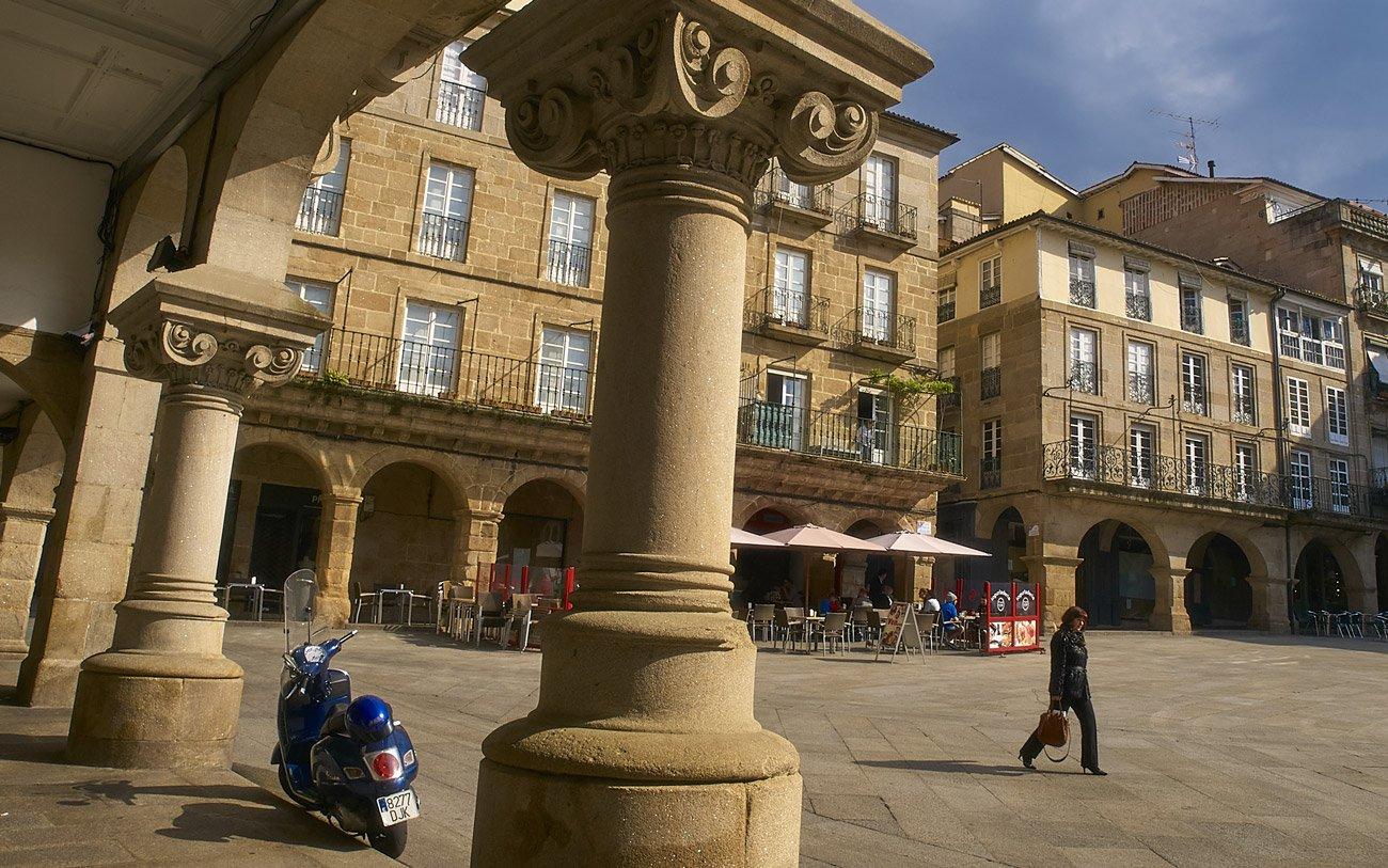 Plaza mayor - Ourense