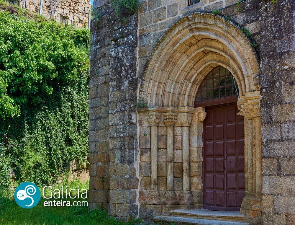 Igrexa de San Miguel de Lebosende, Leiro