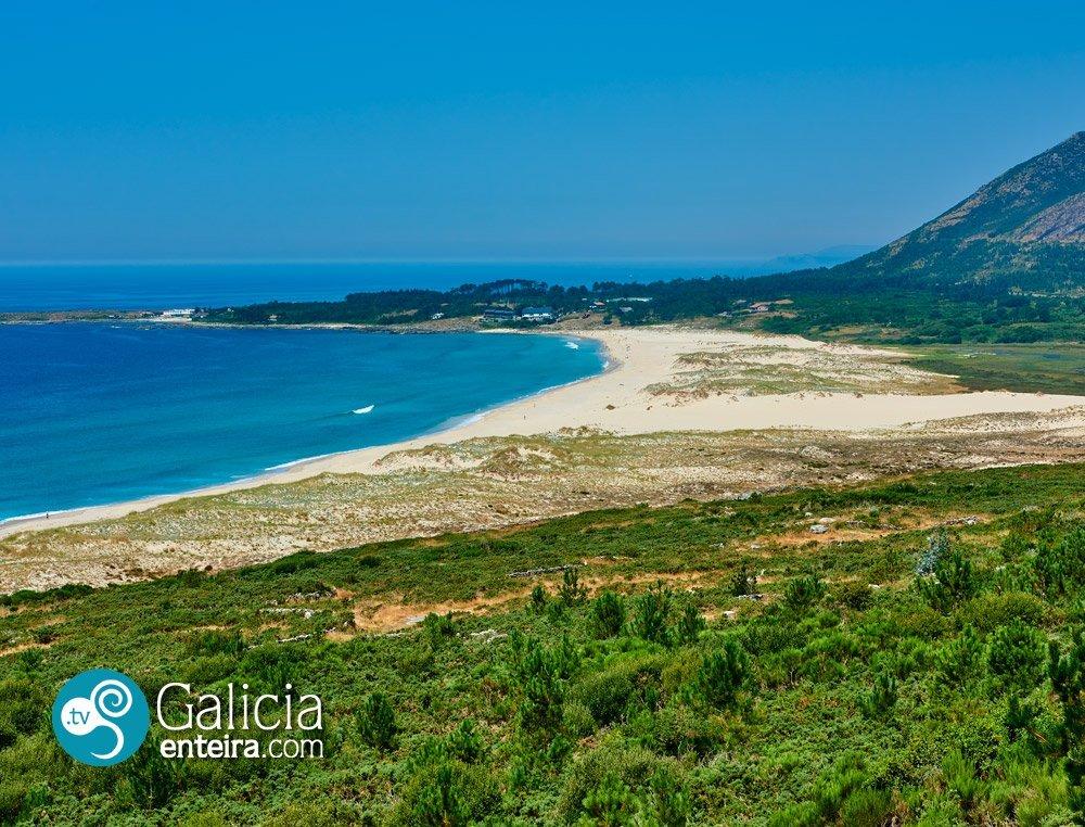 Playa de Area Maior, Muros