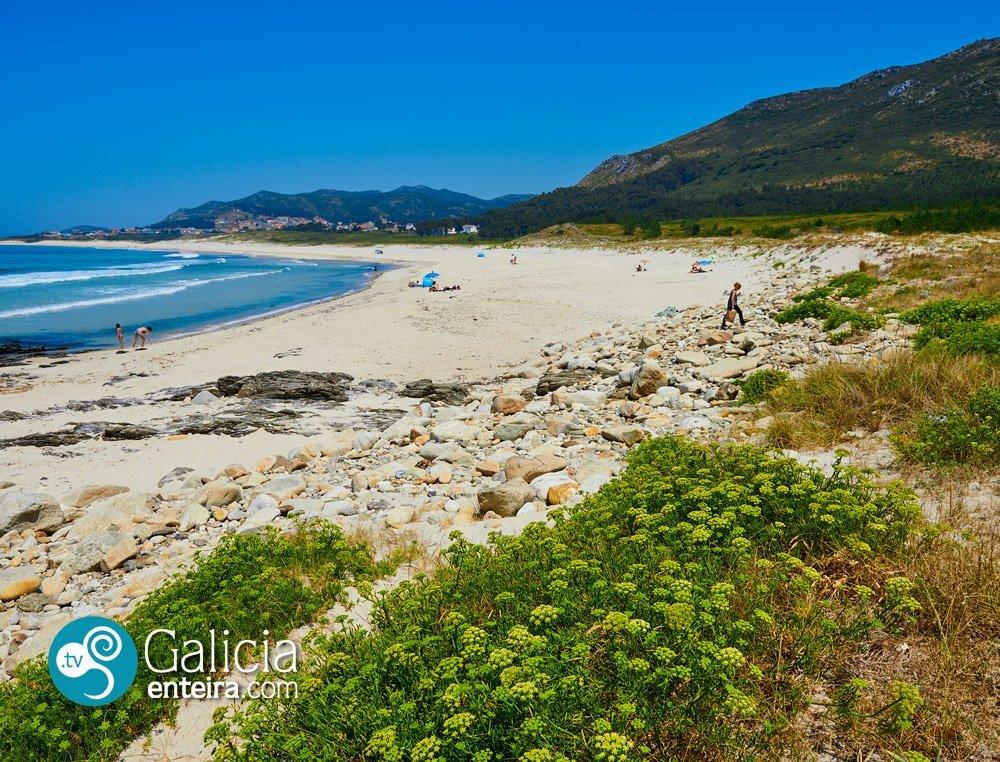 Playa de Lariño, Carnota