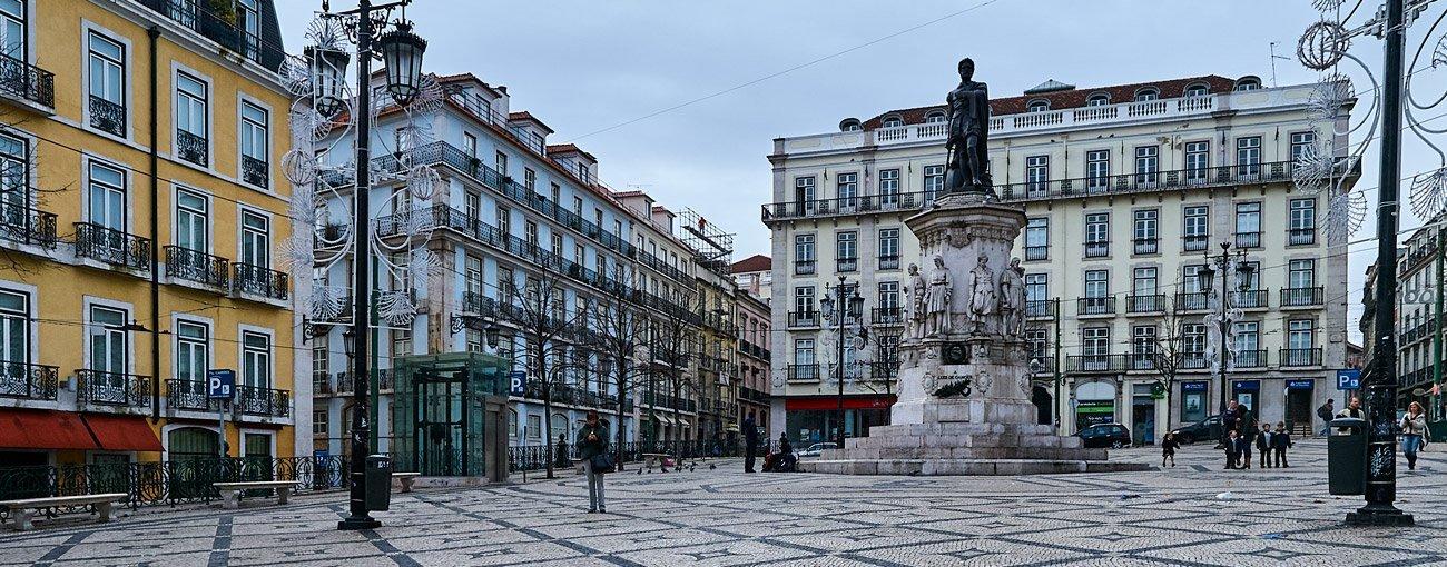 Praça Luís de Camões - Lisboa