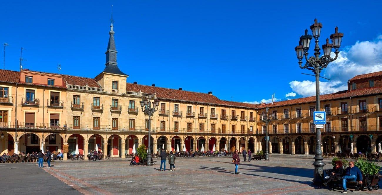 Plaza Mayor de Leon